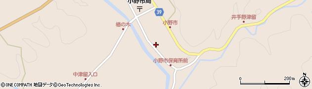 大分県佐伯市宇目大字小野市2942周辺の地図