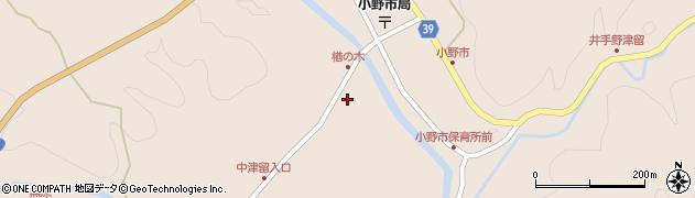 大分県佐伯市宇目大字小野市3476周辺の地図