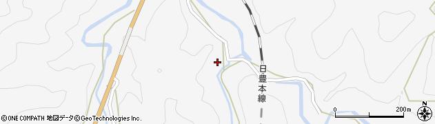 大分県佐伯市直川大字仁田原2608周辺の地図