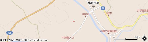 大分県佐伯市宇目大字小野市3512周辺の地図