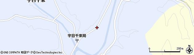 大分県佐伯市宇目大字千束2080周辺の地図
