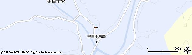 大分県佐伯市宇目大字千束2119周辺の地図