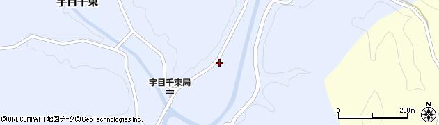 大分県佐伯市宇目大字千束2074周辺の地図