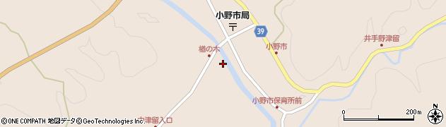 大分県佐伯市宇目大字小野市3481周辺の地図