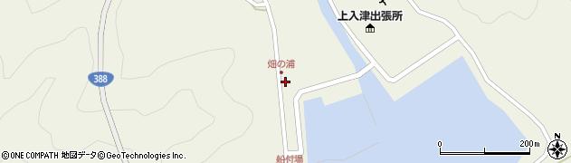 大分県佐伯市蒲江大字畑野浦396周辺の地図
