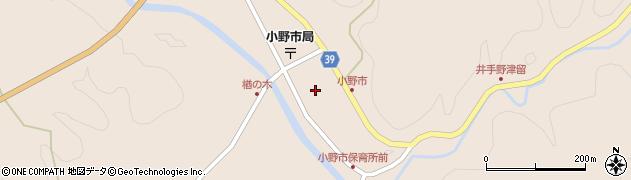 大分県佐伯市宇目大字小野市2911周辺の地図