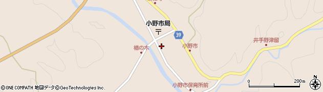 大分県佐伯市宇目大字小野市2907-1周辺の地図