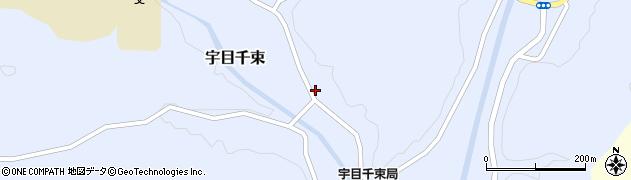 大分県佐伯市宇目大字千束1899周辺の地図