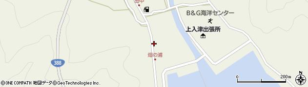 大分県佐伯市蒲江大字畑野浦414周辺の地図