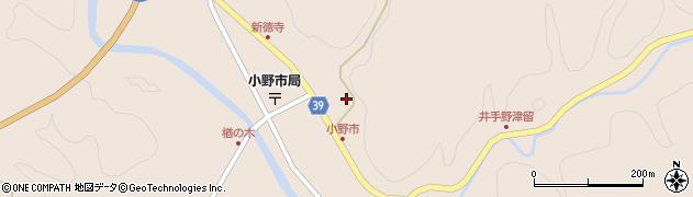 大分県佐伯市宇目大字小野市2924周辺の地図