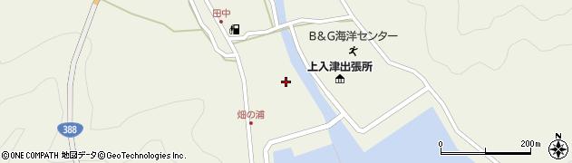 大分県佐伯市蒲江大字畑野浦596周辺の地図