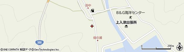 大分県佐伯市蒲江大字畑野浦420周辺の地図