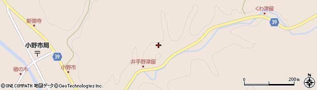 大分県佐伯市宇目大字小野市3048周辺の地図