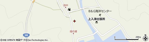 大分県佐伯市蒲江大字畑野浦422周辺の地図