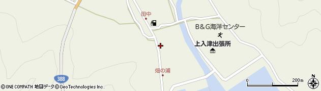 大分県佐伯市蒲江大字畑野浦423周辺の地図
