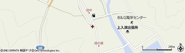 大分県佐伯市蒲江大字畑野浦432周辺の地図