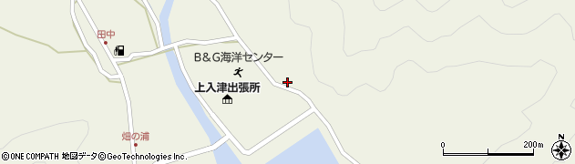 大分県佐伯市蒲江大字畑野浦2562周辺の地図