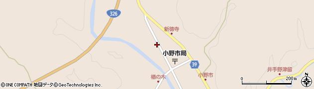 大分県佐伯市宇目大字小野市2864周辺の地図