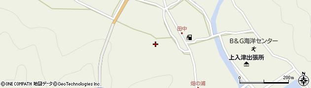 大分県佐伯市蒲江大字畑野浦553周辺の地図