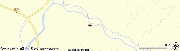大分県佐伯市宇目大字塩見園2351周辺の地図