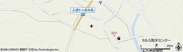 大分県佐伯市蒲江大字畑野浦661周辺の地図