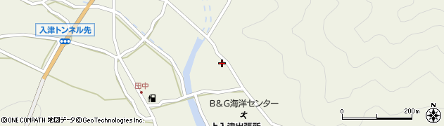 大分県佐伯市蒲江大字畑野浦2532周辺の地図