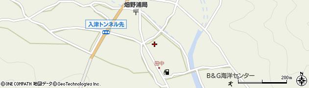 大分県佐伯市蒲江大字畑野浦623周辺の地図