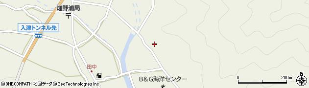 大分県佐伯市蒲江大字畑野浦2538周辺の地図