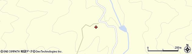 大分県竹田市神原白水周辺の地図