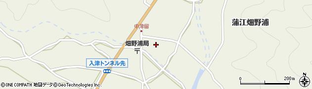 大分県佐伯市蒲江大字畑野浦1628周辺の地図