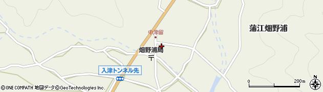 大分県佐伯市蒲江大字畑野浦1608周辺の地図