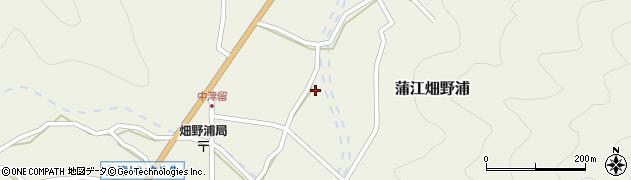 大分県佐伯市蒲江大字畑野浦1661周辺の地図