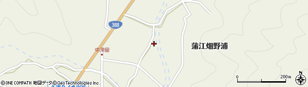 大分県佐伯市蒲江大字畑野浦1663周辺の地図