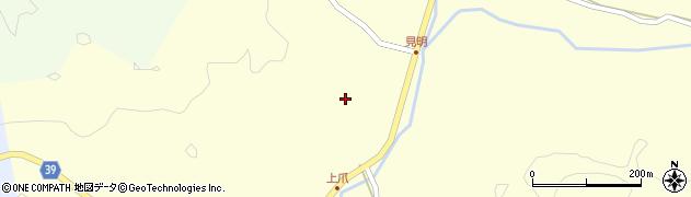 大分県佐伯市宇目大字塩見園2816周辺の地図
