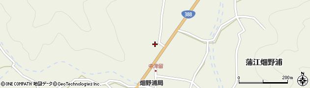 大分県佐伯市蒲江大字畑野浦1579周辺の地図