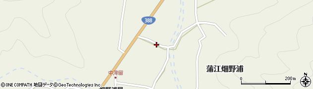 大分県佐伯市蒲江大字畑野浦1667周辺の地図