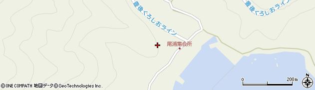 大分県佐伯市蒲江大字畑野浦尾浦周辺の地図
