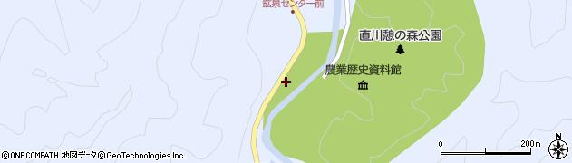 大分県佐伯市直川大字赤木1262周辺の地図