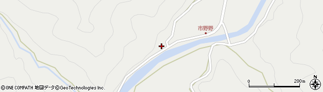 大分県佐伯市青山3505周辺の地図