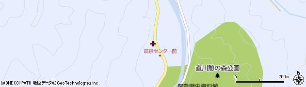 大分県佐伯市直川大字赤木1288周辺の地図