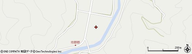 大分県佐伯市青山3382周辺の地図