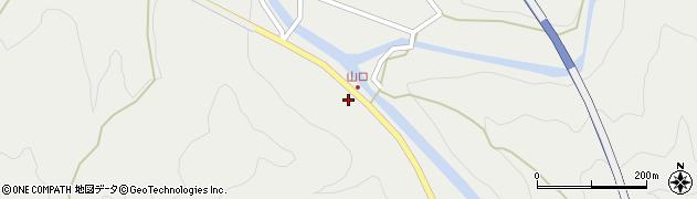 大分県佐伯市青山15周辺の地図