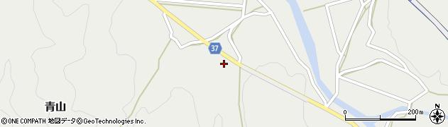 大分県佐伯市青山1732周辺の地図