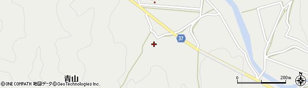 大分県佐伯市青山1867周辺の地図