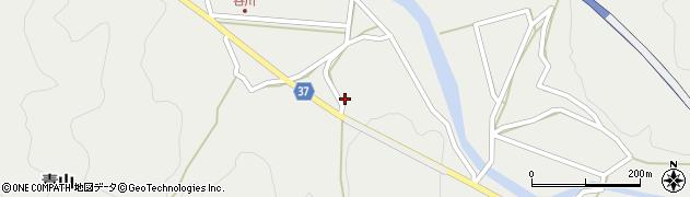大分県佐伯市青山1720周辺の地図