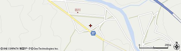 大分県佐伯市青山谷川区周辺の地図