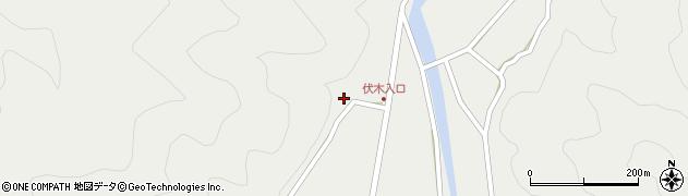 大分県佐伯市青山3225周辺の地図