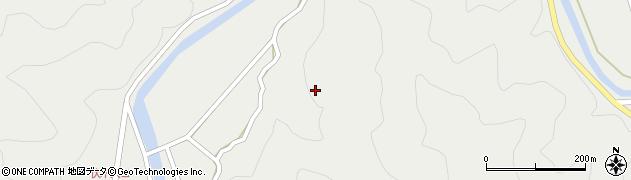 大分県佐伯市青山伏木川周辺の地図