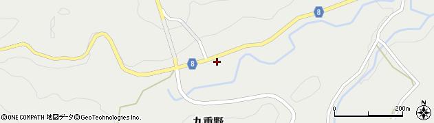 大分県竹田市九重野2186周辺の地図