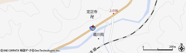大分県佐伯市直川大字仁田原4055周辺の地図